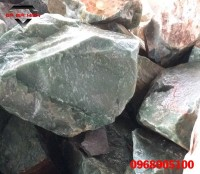 Đá thạch anh xanh khối thô dùng chế tác phong thủy